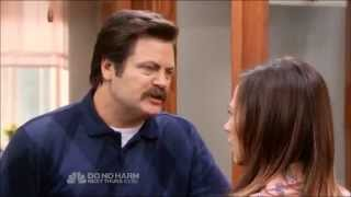 "Ron Swanson: ""I love nothing!"""