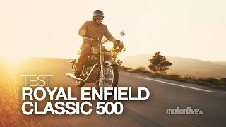 getlinkyoutube.com-TEST | ROYAL ENFIELD Classic, les diamants sont éternels…