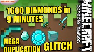getlinkyoutube.com-MINECRAFT - PS4 - MEGA DIAMOND DUPLICATION - HOW TO - TUTORIAL ( PS3 / XBOX )