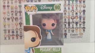 pop! funko review - beauty and the beast - peasant belle & lumiere [hd]