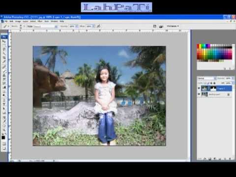 Cara mengganti background foto menggunakan Photoshop