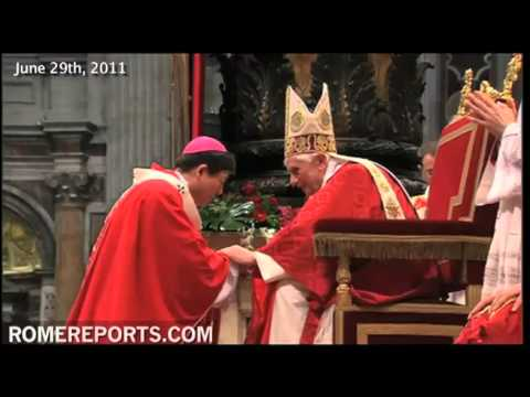 List of bishops to receive Pallium in revised ceremony on Feast of St  Peter and Paul