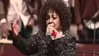 getlinkyoutube.com-Albertina Walker Memorial Service - Shirley Caesar (Part 2)
