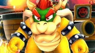 getlinkyoutube.com-Super Mario Galaxy - All Boss Fights (Dino Piranha, King Kaliente, Bowser Jr, Bowser, etc)