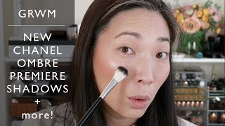 GRWM - NEW Chanel Ombre Premiere Shadows and More (Bareminerals Bronzer)