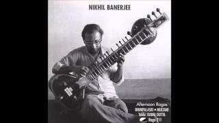 Pt. Nikhil Banerjee - Raga Bhimpalasi (complete)