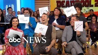 'Deadpool 2' cast faces off in 'Deadpool: Confessions' on 'GMA'