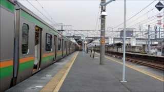 getlinkyoutube.com-【E233系】東海道線326M 沼津駅発車 乗降促進メロディー付き