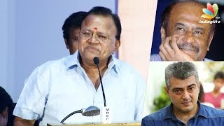 getlinkyoutube.com-Radha Ravi's funny speech about Ajith's Salt and Pepper look | Rajinikanth