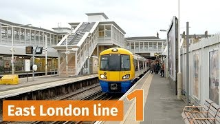 London Overground trains on the East London line – Part 1