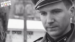 getlinkyoutube.com-Schindler's List | Amon Goeth chooses his housekeeper (ft. Ralph Fiennes and Embeth Davidtz)