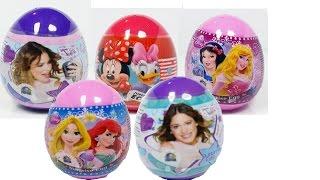 getlinkyoutube.com-minnie daisy violetta rapunzel disney surprise eggs