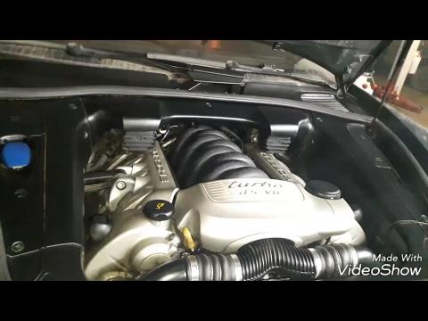 Porsche Cayenne turbo 4.5, V8 | обзор: ремонт системы охлаждения