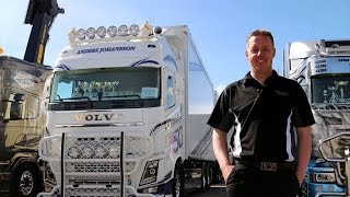 """getlinkyoutube.com-Volvo Trucks –The strongest there is, a customised beauty – """"Welcome to my cab – light"""""""