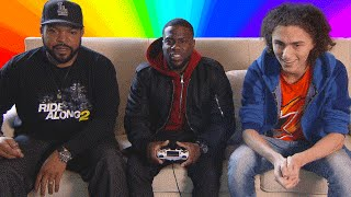 GTA 5 WITH KEVIN HART & ICE CUBE!