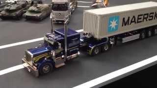 getlinkyoutube.com-Tamiya Grand Hauler Tractor Truck at Nuremberg Toy Fair 2015