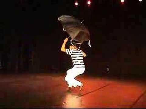 Brazilian dance performance: Frevo