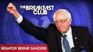 Senator Bernie Sanders Interview at The Breakfast Club Power 105.1 (02/26/2016)