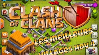 getlinkyoutube.com-LES MEILLEURS VILLAGES HDV 4 !? | TUTO CLASH OF CLANS
