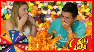 getlinkyoutube.com-BEAN BOOZLED CHALLENGE WITH MY GIRLFRIEND! - TASTING VOMIT, BOOGER, ROTTEN EGG,  DOG FOOD & MORE!