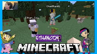 getlinkyoutube.com-Minecraft - Survival with Ethan and Chad - Dog Attack