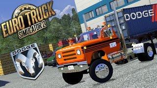 getlinkyoutube.com-EuroTruckSimulator2 : Viajando con Dodge 600 | 25Ton De Naranjas | Full Freno De Motor