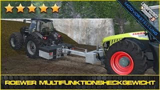 getlinkyoutube.com-LS 15 Modvorstellung #385 ★ RÖWER Multifunktions-Heckgewicht ★ bm modding