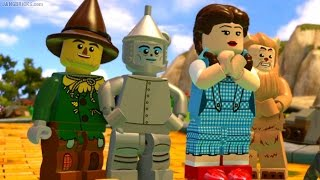 getlinkyoutube.com-LEGO Dimensions 🎮 Wizard of Oz FULL story level gameplay!