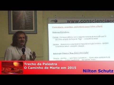 Nilton Schutz - O Caminho de Marte em 2015 - Momentos de Fluidez e Desafios para os 12 Signos