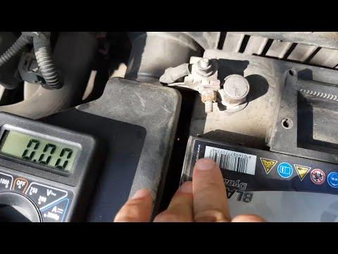 Как найти утечку тока в авто?