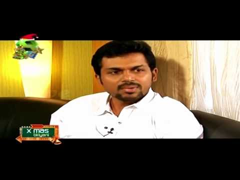 superb tamil speaking malayalam anchor meera kasiraman - chat with Karthi