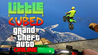 getlinkyoutube.com-Little and Cubed: Mount Chiliad Tumble! - GTA Online