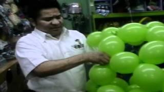 getlinkyoutube.com-decoracion con globos esfera bipolo