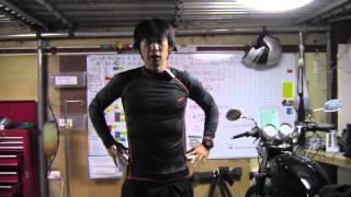 getlinkyoutube.com-バイク便利グッズ:防寒アイテムラッシュガードと膝パッド