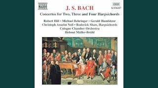 Concerto for 2 Keyboards in C Minor, BWV 1060: I. Allegro