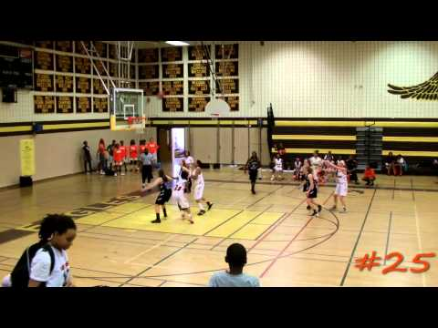 Maryland Lady Tigers Team 98 - 2013 AAU States Highlights