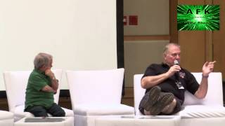 getlinkyoutube.com-Space City Con Winter 2014 - Buck Rogers and Twiki Panel - Gerard and Silla