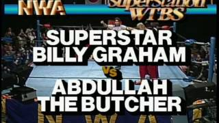 getlinkyoutube.com-NWA WCW Wrestling Billy Graham vs Abdullah The Butcher
