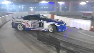 getlinkyoutube.com-Ahmed Daham Keep #CPDrift #Redbull Carpark drift 2015 Dubai