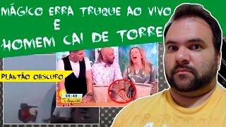 getlinkyoutube.com-Homem cai de Torre  e Mágico erra truque ao vivo