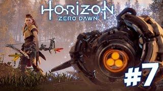 CORRUPTED DINOBOTS!!! - Horizon Zero Dawn Walkthrough   Part 7 (PS4) HD