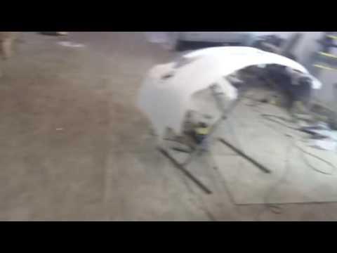 Тойота минивен и Lexus IS начало ремонта