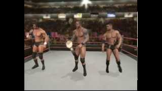 WWE Smackdown Vs Raw 2010 Cut Scenes Randy Orton