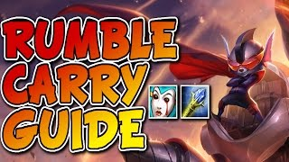 TOP CARRY RUMBLE GUIDE GAMEPLAY - Unranked to Masters Episode #103