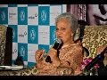 Waheeda Rehmans candid confessions - Bollywood Country Videos