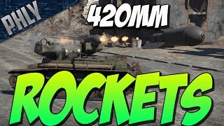 getlinkyoutube.com-420MM ROCKET TANK! RBT-5 RARE TANK! (War Thunder Gameplay)