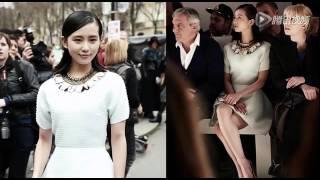 getlinkyoutube.com-劉詩詩受邀再赴巴黎時裝周 造型優雅風格多變