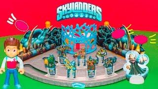SKYLANDERS Game Skylanders Block N Blast Game with Paw Patrol Video Unboxing