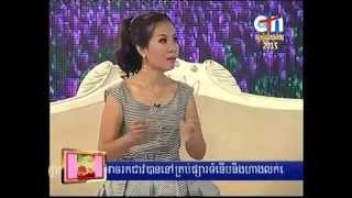 getlinkyoutube.com-CTN Channel 21, Show Khmer Star Interview Mrs Sokha Sotheany, On 01 January 2015, Part 01