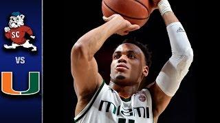 getlinkyoutube.com-Miami vs. South Carolina State Men's Basketball Highlights (2016-17)